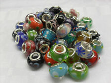 Lampwork Glass Beads For Charm Charms Braclets, Arts Crafts, Collectors,