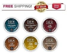 NEW & FRESH Keurig Cafe Escapes k-Cup (YOU PICK THE SIZE BOX) *FREE SHIPPING*