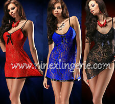Nine X Sexy Lingerie Lace Babydoll Plus Size 10 12 14 16 18 20 22 24 26 28 Night