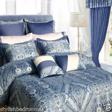 ZEBRA Duvet Cover Set With Matching Curtains and FITTED Sheet - DOUBLE KING