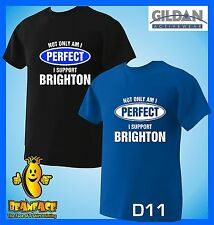 BRIGHTON T SHIRT Not Only Perfect football sport fc funny T SHIRT small to 5XL
