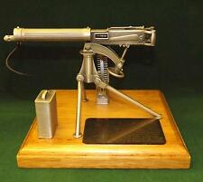 Plinth Mounted Miniature English Pewter Gun Display