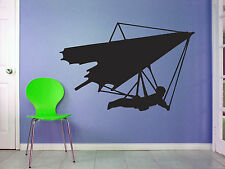 Hang Glider Silhouette Wall Art - Hang Gliding  - Various Sizes/Colour