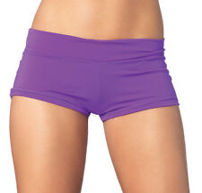 4 COLORS SPANDEX BOOTY BOY SHORTS RAVE GOGO DANCE CLUB WEAR ROLLER DERBY EXOTIC