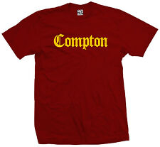 Compton Old English T-Shirt - Eazy E NWA Dr. Dre Easy Game - All Sizes & Colors