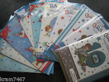 Grandson`s Birthday Cards Age 1st, 2nd, 3rd, 4th, 5th, 6th, 7th, 8th, 9th ,10th
