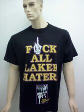LAKERS T-SHIRT LOS ANGELES MENS SIZE MED-4X NEW FREE SHIPPING HATERS KOBE PAU