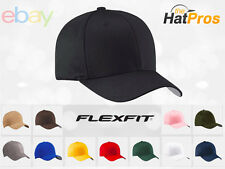 NEW Original FLEXFIT® Fitted Hat Cap BLANK Flex Fit