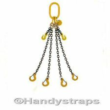 Lifting Chain Sling 7mm , 10mm , 13mm , 1 ,2 ,3 ,4 Leg  with or without Shortner
