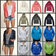 HOLLISTER BY ABERCROMBIE 2014 SUPERSOFT WOMENS FLEECE HOODIES [VARIOUS COLOURS]