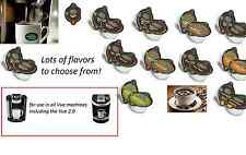 80 count GREEN MOUNTAIN Bulk Lot wholesale KEURIG VUE Single cup Coffee pods