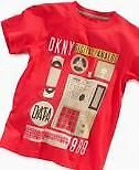 DKNY Kids Shirt, Boys Sans T-Shirt Formula Colour NWT Size Small to XLarge