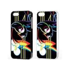My Little Pony Neon Colorful Neon Case For iPhone 4 4s 5 5c 6 6 Pluse iPod 5th