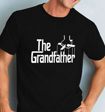 The Grandfather T-shirt, 'Godfather style' Grandad Tee, all sizes, Small to 6XL