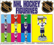 NEW NHL MINI STANLEY CUP CHAMPIONS FIGURES 1962-1973 GIFTS MINI CAKE TOPPERS