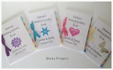 Personalised Childrens Wedding Activity Book Favour Gift Party Bag Pack
