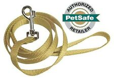 """Premier Nylon Leash 6 ft (3 Widths to Choose From 1"""", 3/4"""" or 3/8"""") Fawn"""