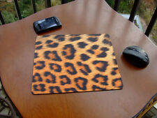 LEOPARD TEXTURE MOUSE PAD CUP MAT TABLE PLACEMAT MOUSEPAD - FREE SHIPPING TO USA