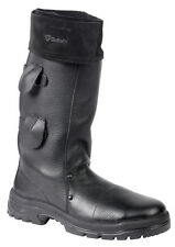 NEW GOLIATH HM2004W FOUNDRY - WELDING BOOT HIGH LEG BLACK LEATHER