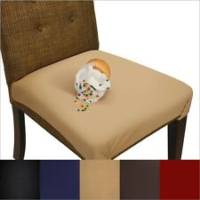 Dining Seat Cover and Chair Protector - Washable, Waterproof, Not Vinyl