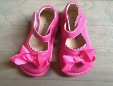 ADD-a-BOW Girls Hot Pink  SQUEAKY SHOES Toddler SIZES 4-8 Shoes