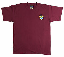Retro Hearts 1950s Football T Shirt New  Sizes S-XXL Embroidered Logo