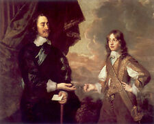 Art Photo Print - Charles I And 2Nd Son James Duke Of York - Sir Peter Lely 1618