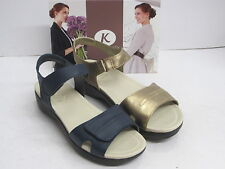 SALE  K BY CLARKS LADIES SANDALS 'OREGANO BAY' LEATHER