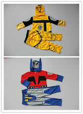 Brand New Transformers / Transformer 3ps Costume Dress Up Size 3,4,5,6,8