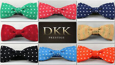 Mickey & Minnie UNISEX DOTS Bow Ties for Xmas Party Wedding X-factor Style CHEAP