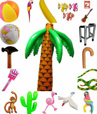 PARTY INFLATABLES KIDS ADULTS ZIMMER BEACH BALL FLAMINGO PARROT MONKEY SNAKE ETC