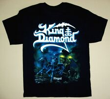 KING DIAMOND ABIGAIL'87 MERCYFUL FATE HEAVY METAL BLACK T-SHIRT