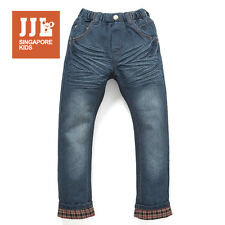 JJLKIDS Demin Jeans for Boys Pants Trousers Kids Clothes Size 3-12 Years