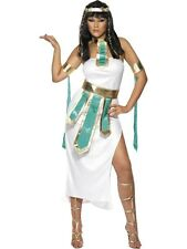Adulto Sexy Cleopatra GIOIELLO DEL NILO EGIZIANA Signore Fancy Dress Party Costume