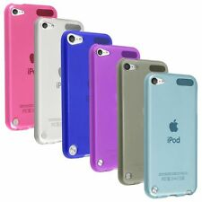 Smoke Pink Blue White Purple TPU Rubber Soft Case For iPod Touch 5th Gen 5G 5