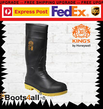 Oliver 10100 Safety Gum Boots With Steel toes - waterproof Brand New