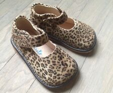 NEW Girls Leopard Squeaky Toddler Mary Jane Shoes size 4 - 8  -Leopard Shoes