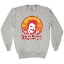 TOM SELLECK MAGNUM P.I. UNOFFICIAL SWEATER JUMPER TOP ADULTS & KIDS SIZES COLS