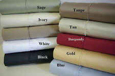 1200TC Egyptian Cotton Bed Sheet Set All Australian Bed Size
