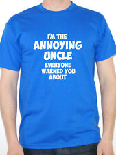 ANNOYING UNCLE - Family / Dad / Son / Father / Boy / Brother Themed Mens T-Shirt