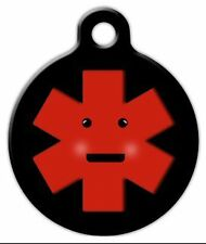 MEDICAL IDENTIFICATION - Custom Personalized Pet ID Tag for Dog and Cat Collars