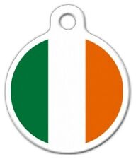 IRELAND FLAG - Custom Personalized Pet ID Tag for Dog and Cat Collars