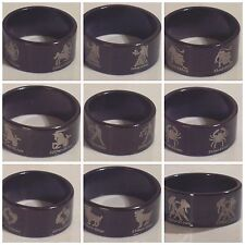 Zodiac Signs- Stainless Steel- Black - Wide band - Ring - Unisex