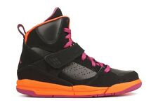 Nike Jordan Flight 45 High 524863 028 New Girls PS Youth Black Fusion Pink Shoes