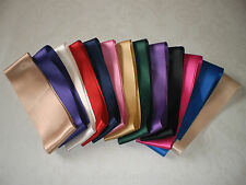 Luxurious Double Satin Ribbon In Various Colours & Lengths, 15mm and 50mm widths