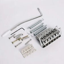 Tremolo Guitar Bridge With Whammy Bar For Fender Strat Electric Chrome/Black