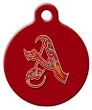 ROYAL MONOGRAM A -Z - Custom Personalized Pet ID Tag for Dog and Cat Collars