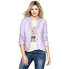 NWT GAP WOMEN'S LILAC PURPLE WORK JACKET ACADEMY BLAZER 0 10 10 TALL