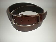 Brown leather belts suitable for men and women from small to XX large sizes