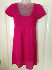 BNWOT Ladies Ex-Jane Norman Hot Pink Knitted Top - Size 8-14